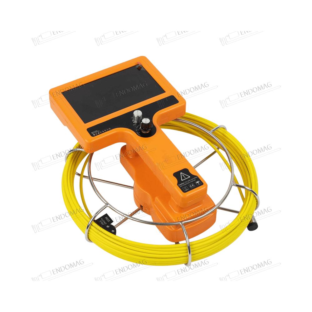 Технический промышленный видеоэндоскоп для инспекции труб WOPSON WPS-710-SCJ для инспекции, 20 м, без записи - 5